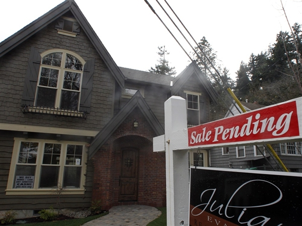 Pending-home sales up by most in almost a year