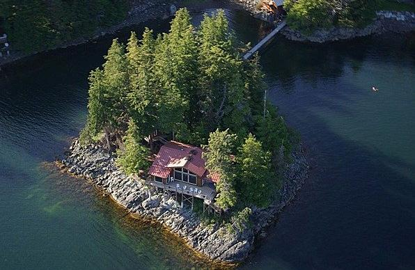 Listing of the Week: Northern exposure home for sale, private island included